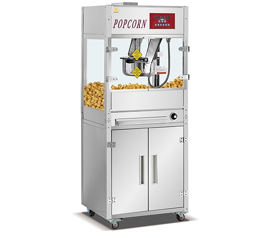 16-ounce single pot vertical electronic popcorn machine